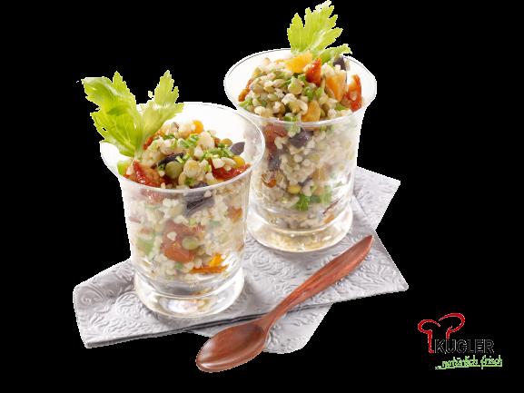 Linsen-Bulgur Salat