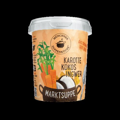 Karotte-Kokos-Ingwer Suppe