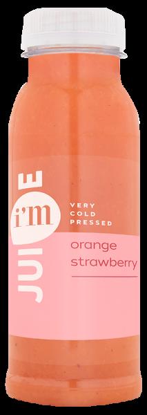 Orangen-Erdbeersaft frisch gepresst 0,5l